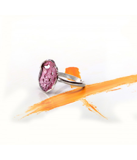 Inel argint Little Pink Ring