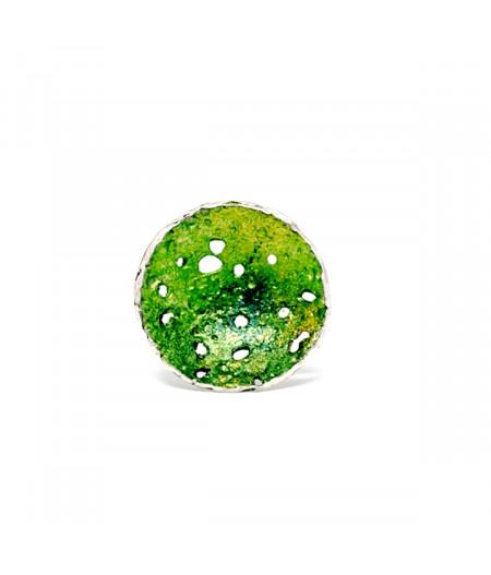 Inel argint Fresh Green