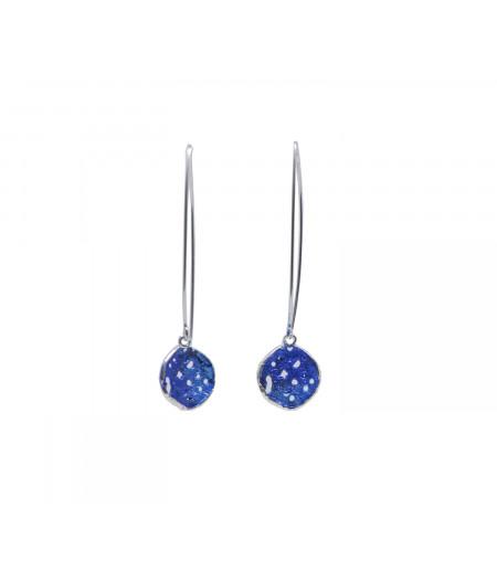 Cercei lungi Blue Drops