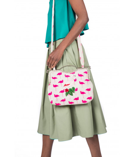 Let's Flamingle Handbag -3