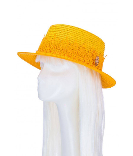 Jardin Majorelle Mini Straw  Hat -3