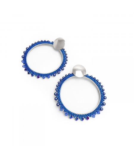 Cercei fantezie argint / Fantasy silver earrings