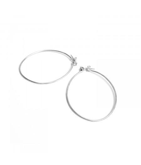 Cercei argint cu cristale Swarovski / Silver earrings with Swarovski crystals