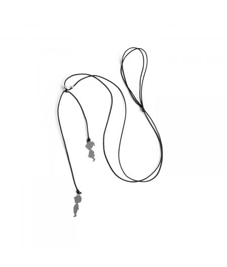 Accesoriu gat cu elemente argint/ Necklace with silver elementes
