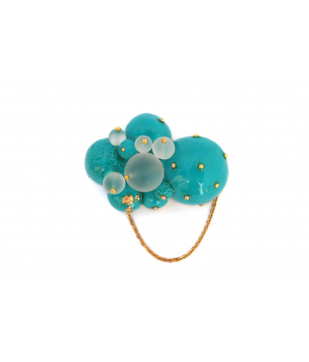 Candy-turquoise-spheres-brooch