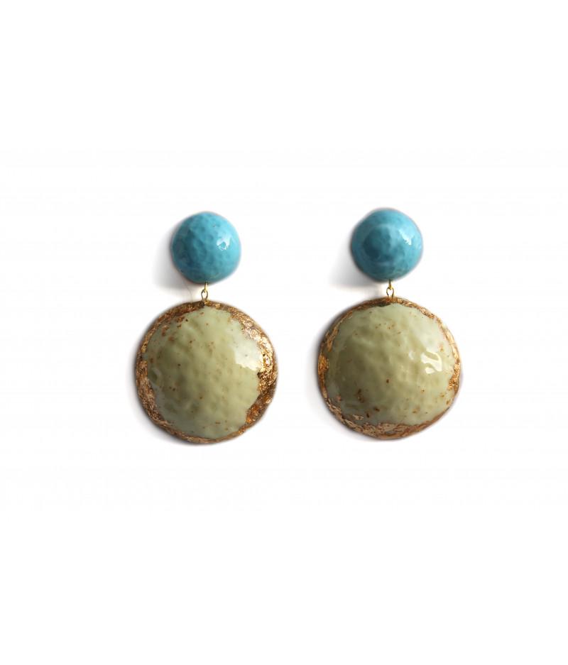 Candy-pastel-vanilla-gold-earrings