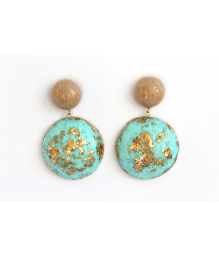 Candy-pastel-gold-earrings