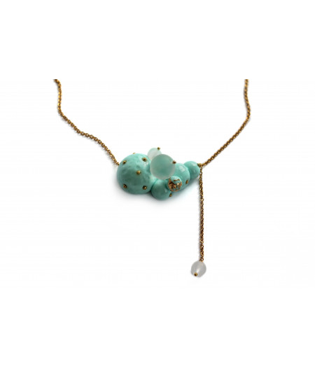 Candy-mint-spheres-necklace