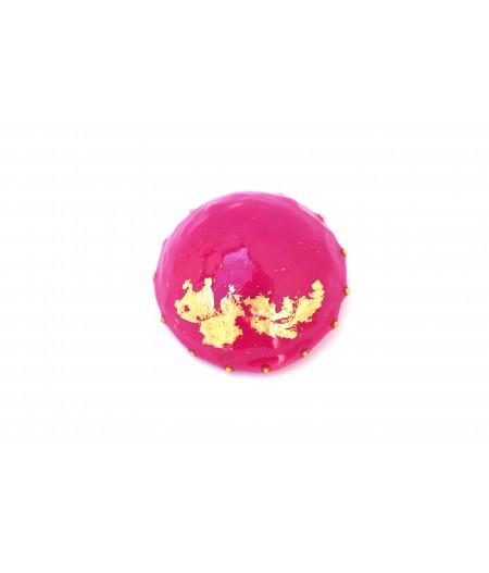 Candy-magenta-brooch