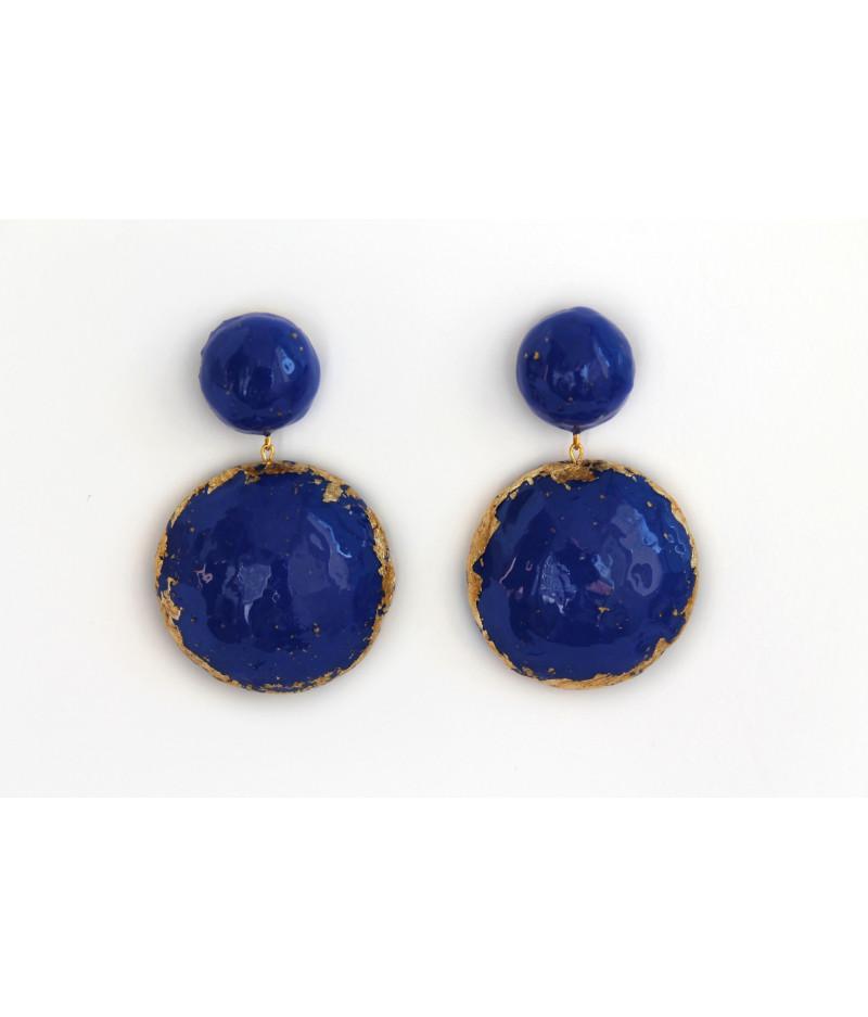 Candy-blue-earrings
