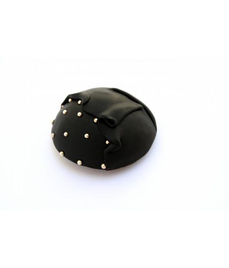 Candy-black-brooch