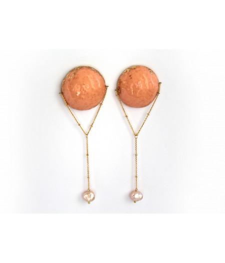 Candy-baroque-orange-earrings