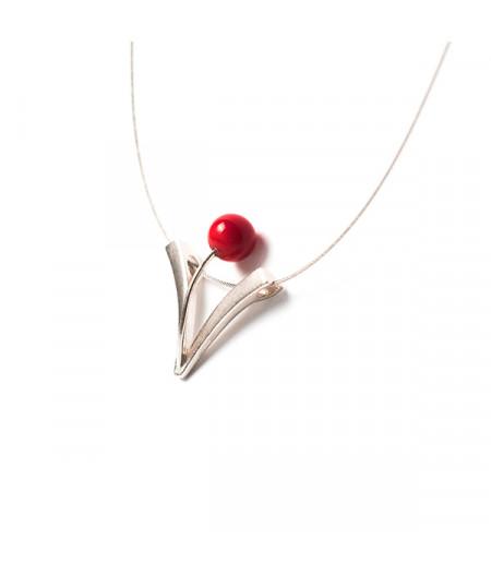 Pandantiv Flame Lily (red)